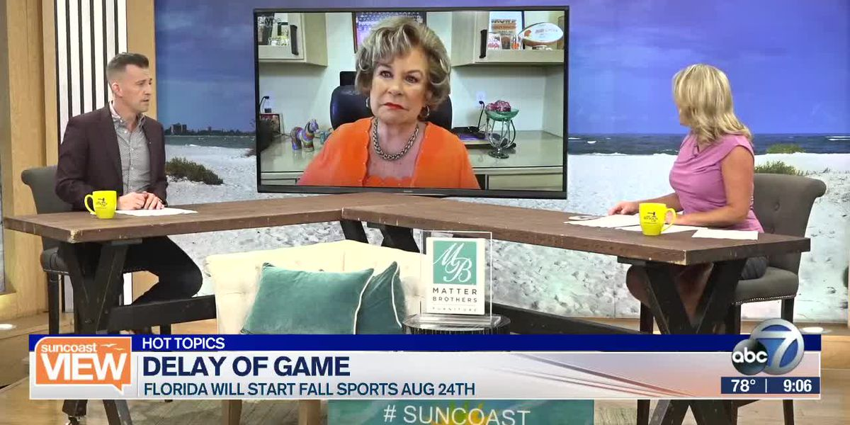 HOT TOPICS: School sports delay, Love loophole, & Floating films | Suncoast View