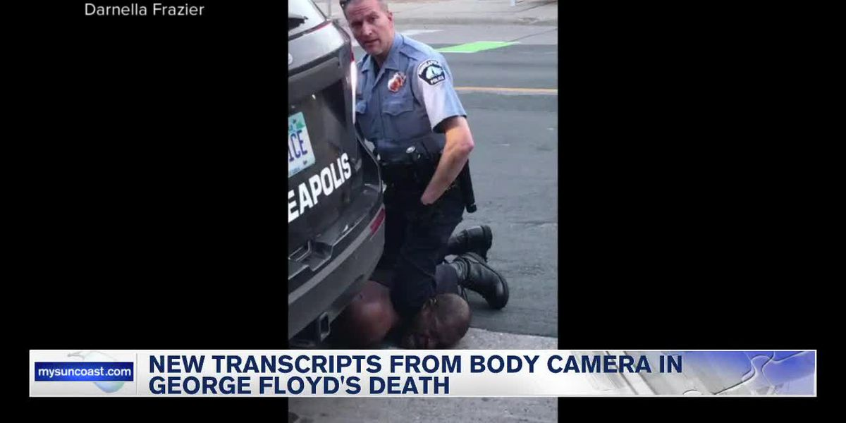 New Transcripts From Body Camera in George Floyd's Death