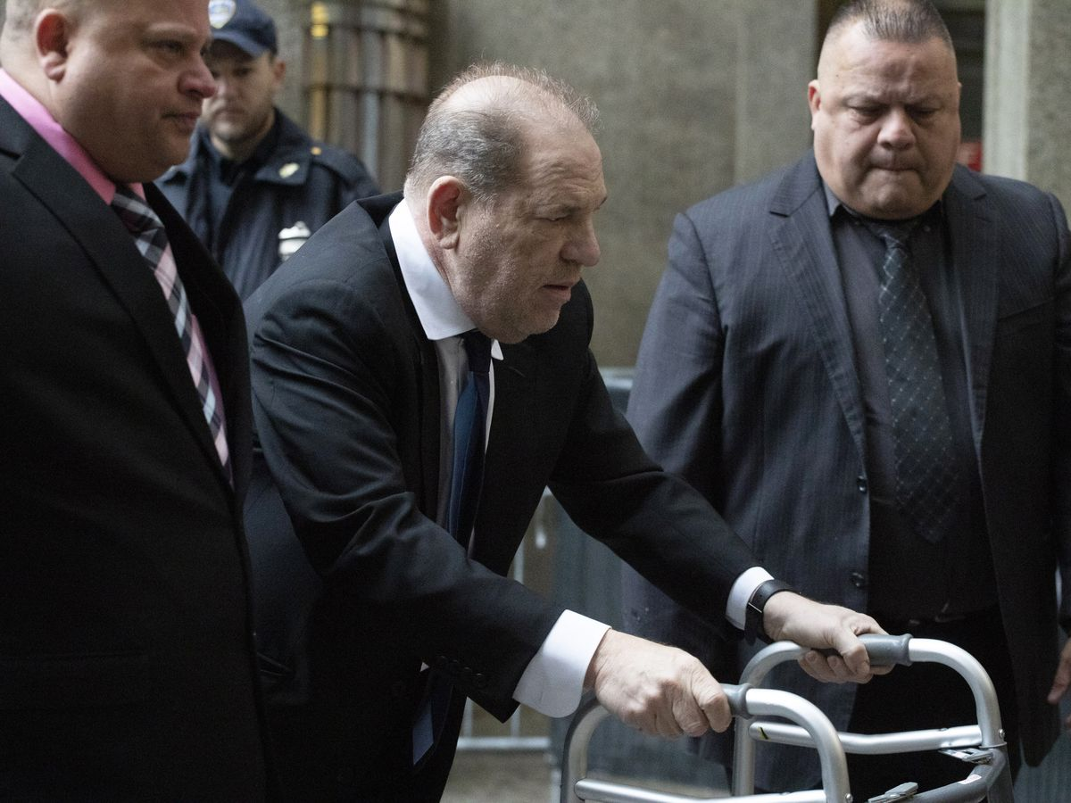 Harvey Weinstein's bail hiked to $5 million over ankle monitor issues