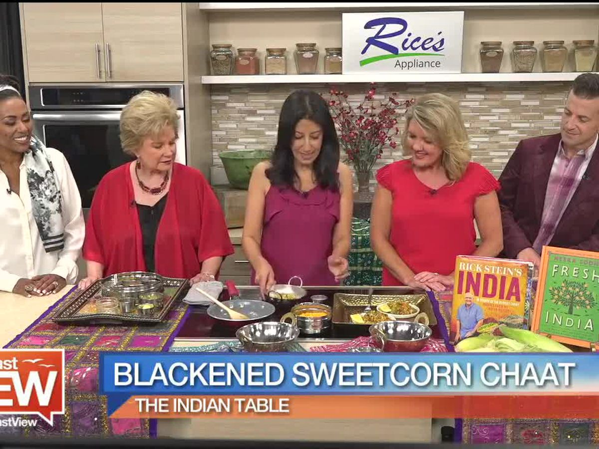 Recipe for Blackened Sweet Corn Chaat | Suncoast View