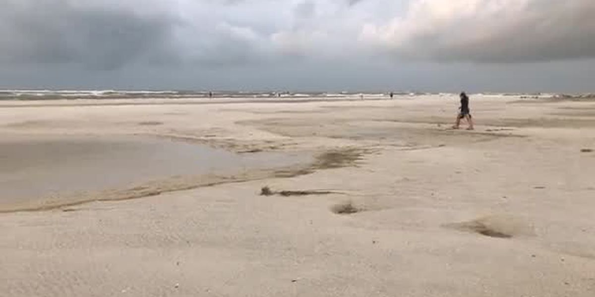 VIDEO: Beach conditions on Lido Beach