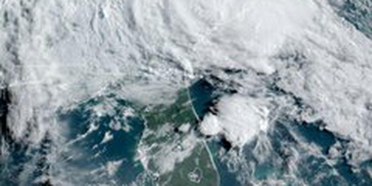Tropical Storm Bertha makes landfall in South Carolina