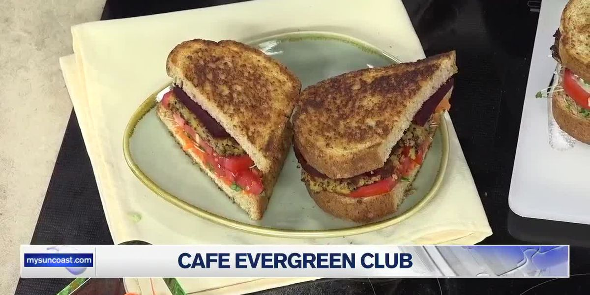 Club Sandwich From Cafe Evergreen