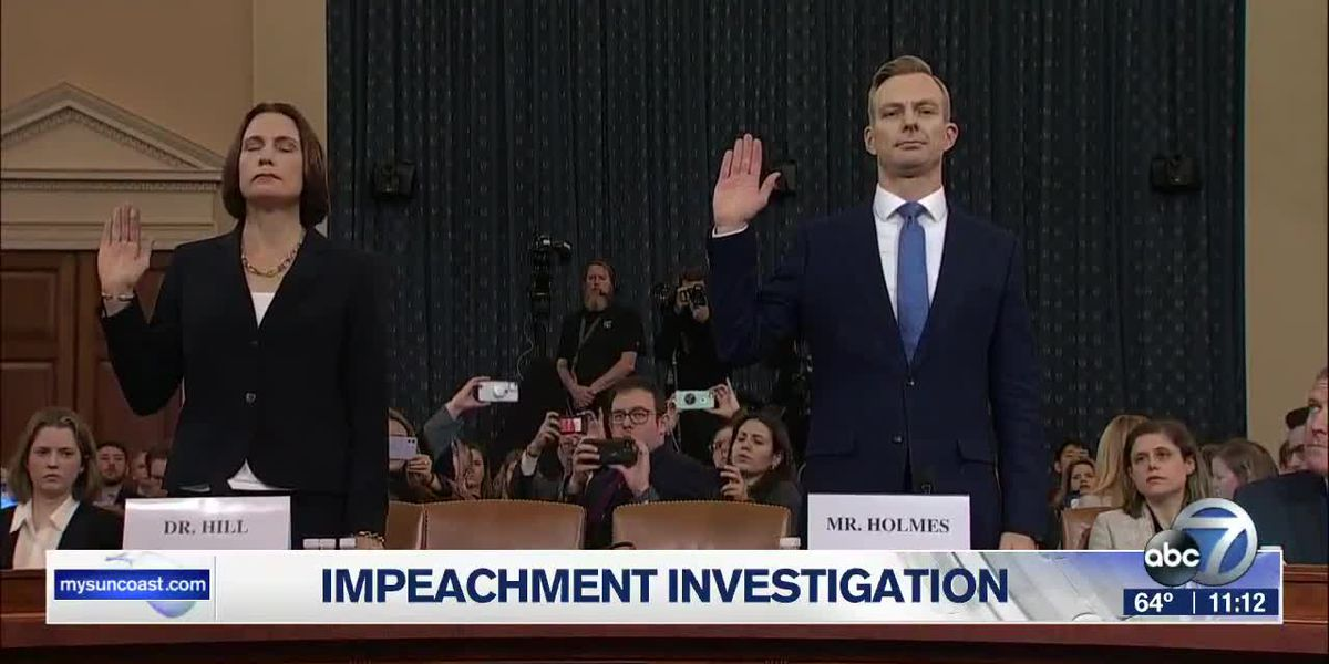 Impeachment Investigation Hearings