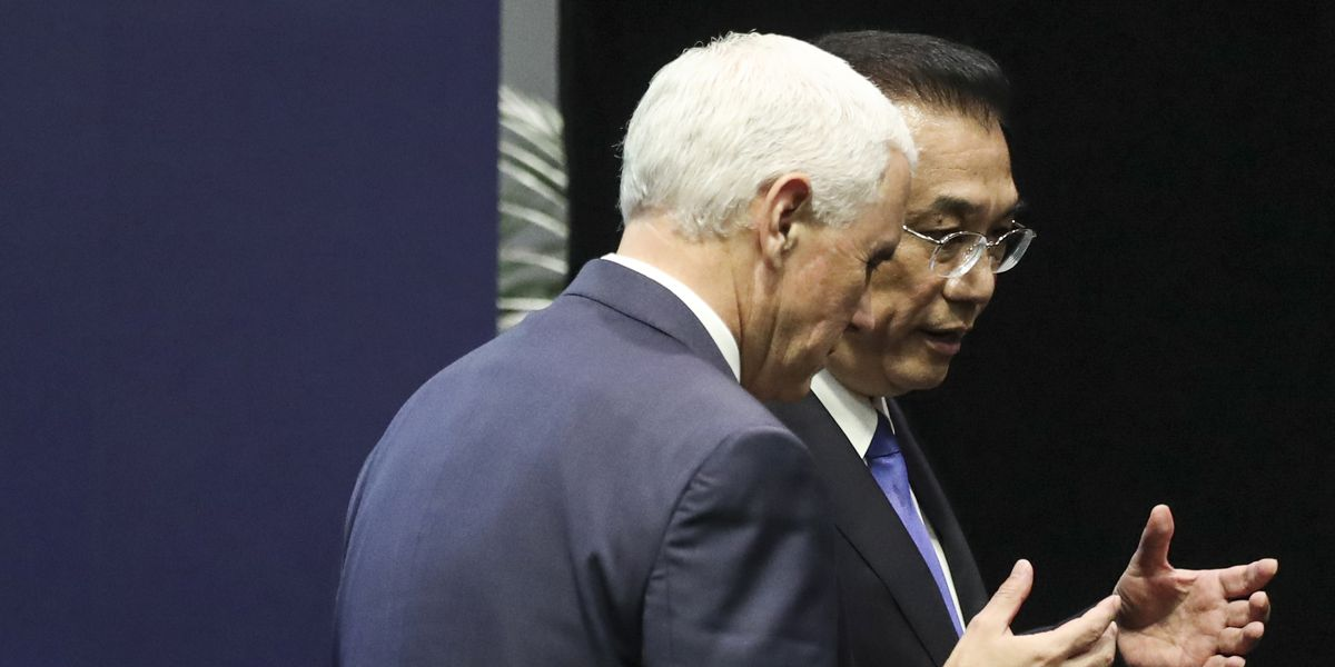 US, China rivalry challenging entwined Asia-Pacific region
