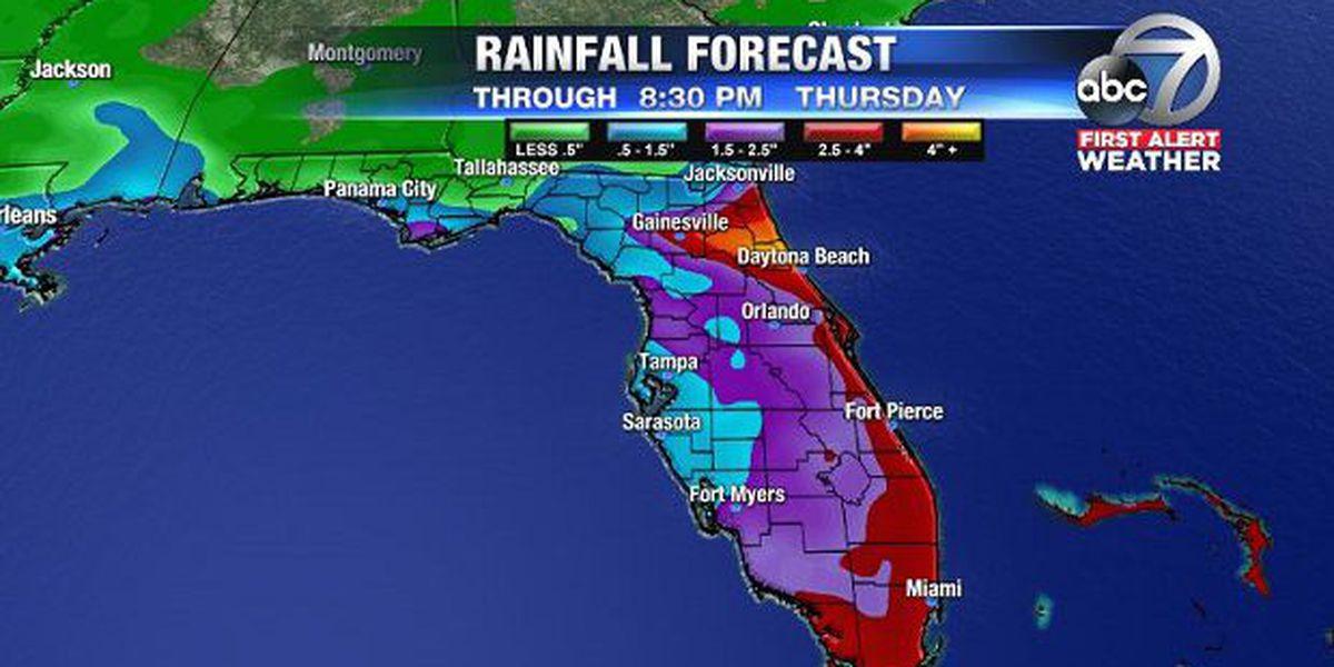 First Alert Weather: Better rain chance for Florida