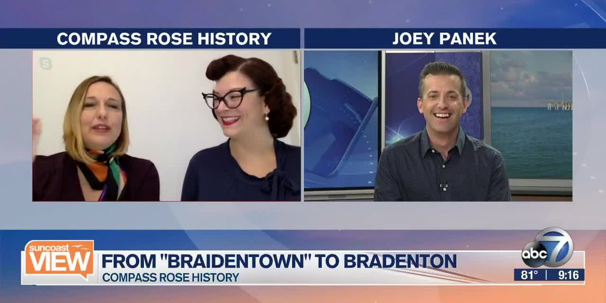 """Compass Rose History shares how the city of Bradenton transitioned from """"Braidentown"""" 