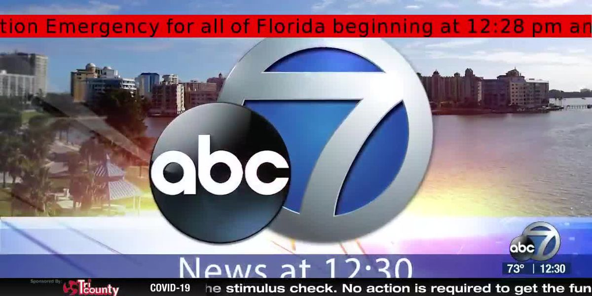 ABC 7 News at 12:30pm - Wednesday April 1, 2020