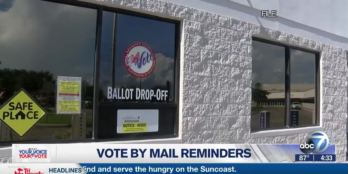 Here's how to check the status of your mail-in ballot