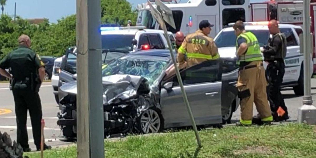 Two injured in multi-car crash on Fruitville at Paramount Road in Sarasota