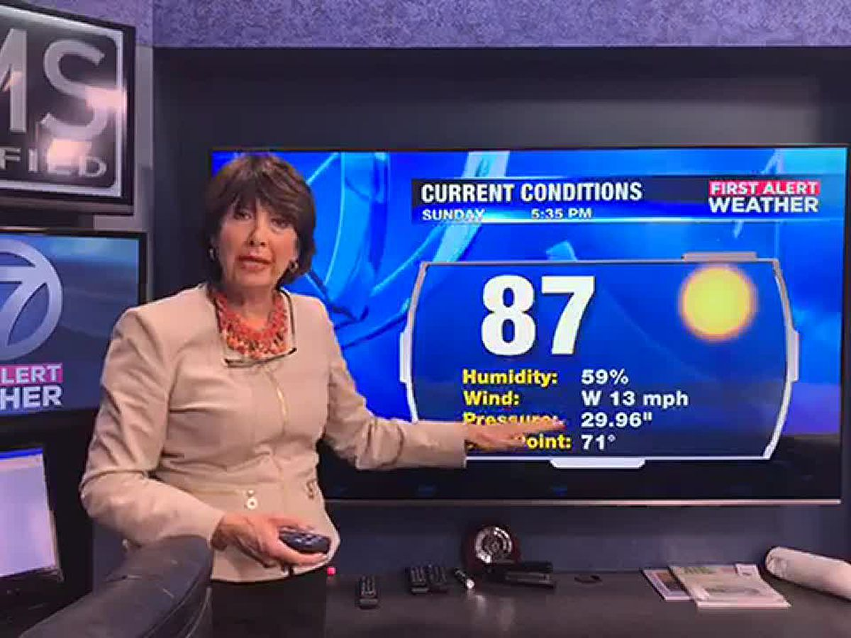 Suncoast: Temperatures are looking hot and dry this week