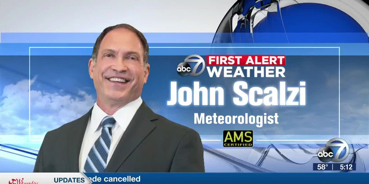 First Alert Weather: A cool air blast for the Suncoast to start the work week