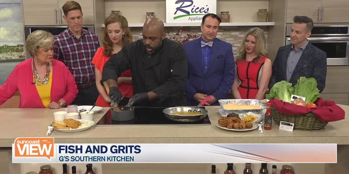Fish and Grits with G's Southern Kitchen | Suncoast View