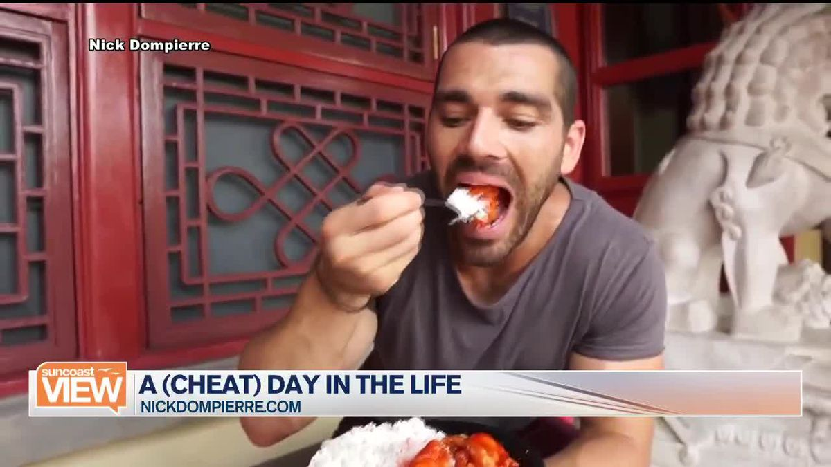 How to have a Cheat Day with Fitness Model Nick Dompierre