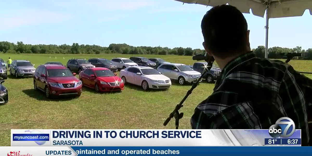 Some Suncoast churches host drive in services as the state begins to reopen