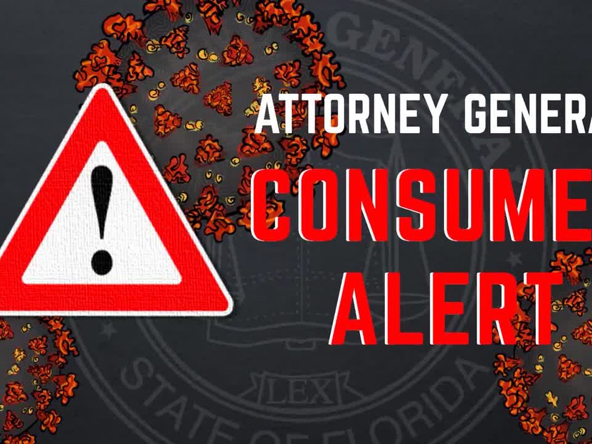 Florida Attorney General issues warning about COVID-19 texting scam