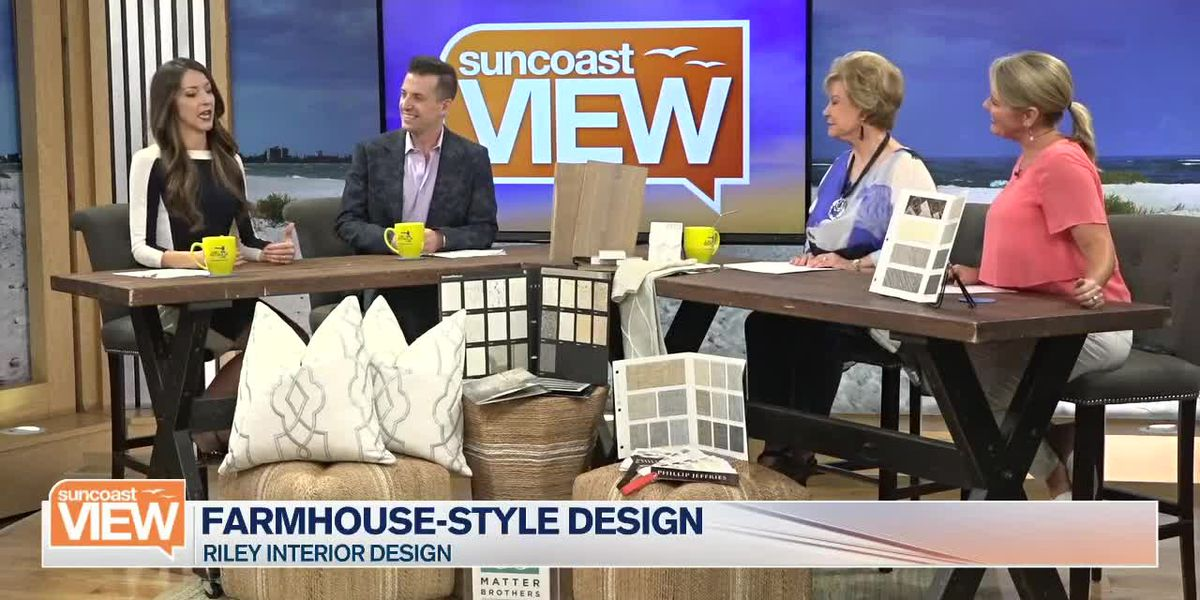 Riley Interior Design Shows How to Get that Trendy Farmhouse Look | Suncoast View
