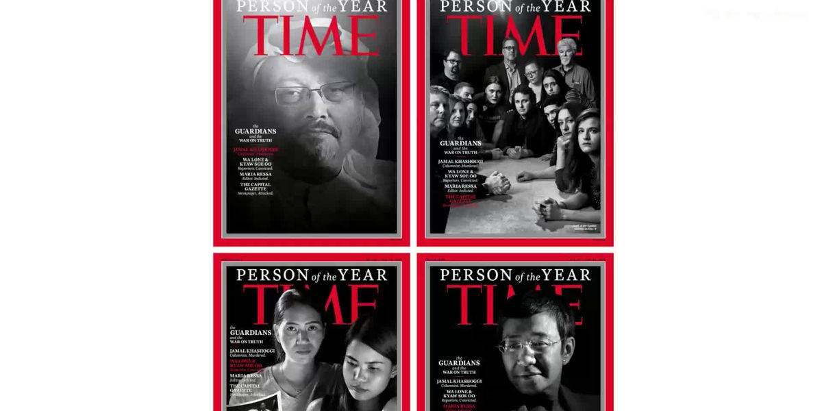 Time honors Khashoggi, journalists as 'Person Of The Year'
