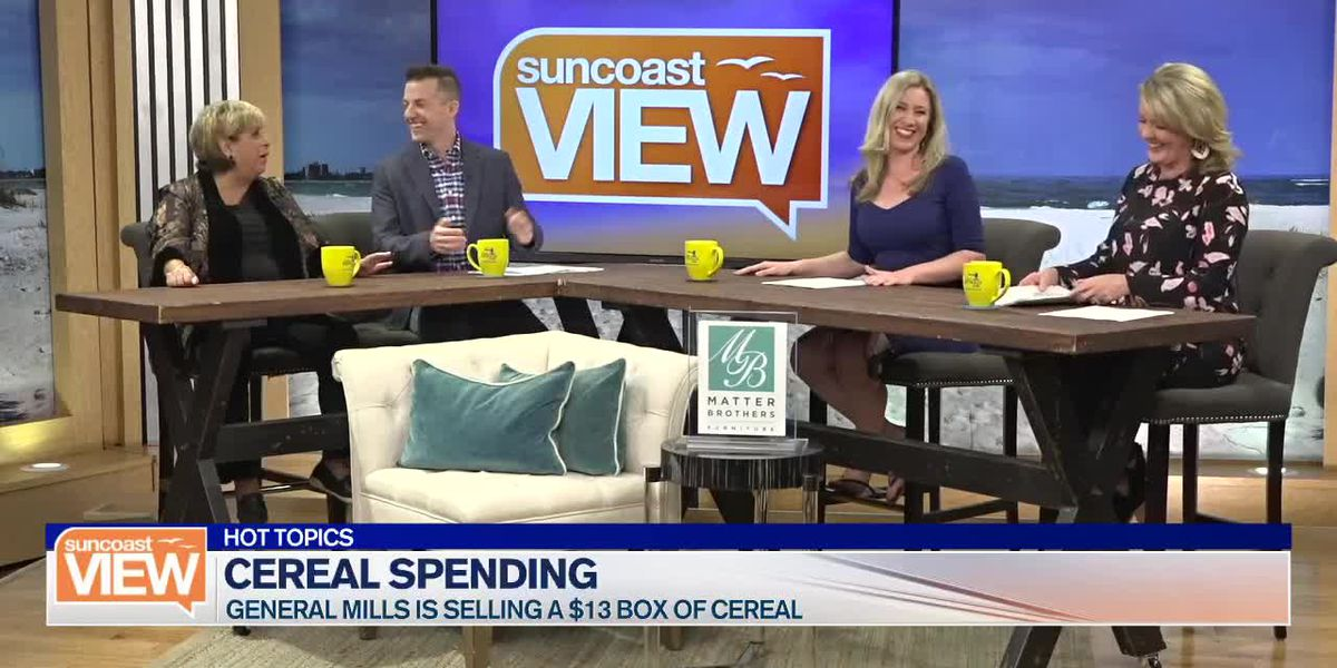 Ringling Bridge Back Up and 13 Bucks on Cereal? | Suncoast View
