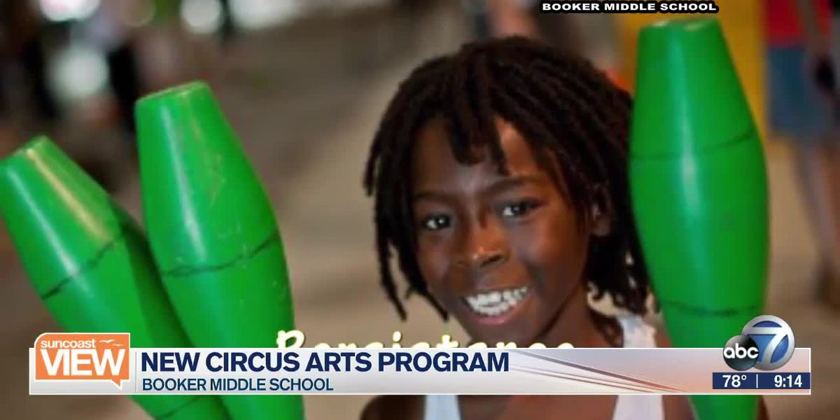 Booker Middle School launches Circus Art Program | Suncoast View