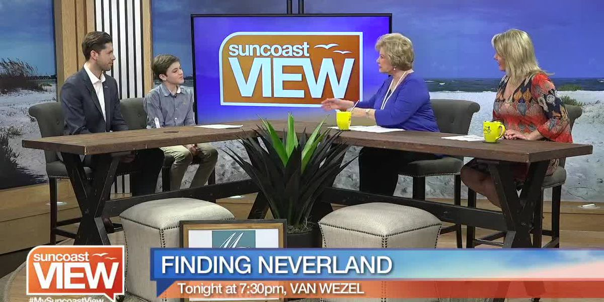 """We Chat with Two Stars of """"Finding Neverland"""" at the Van Wezel 