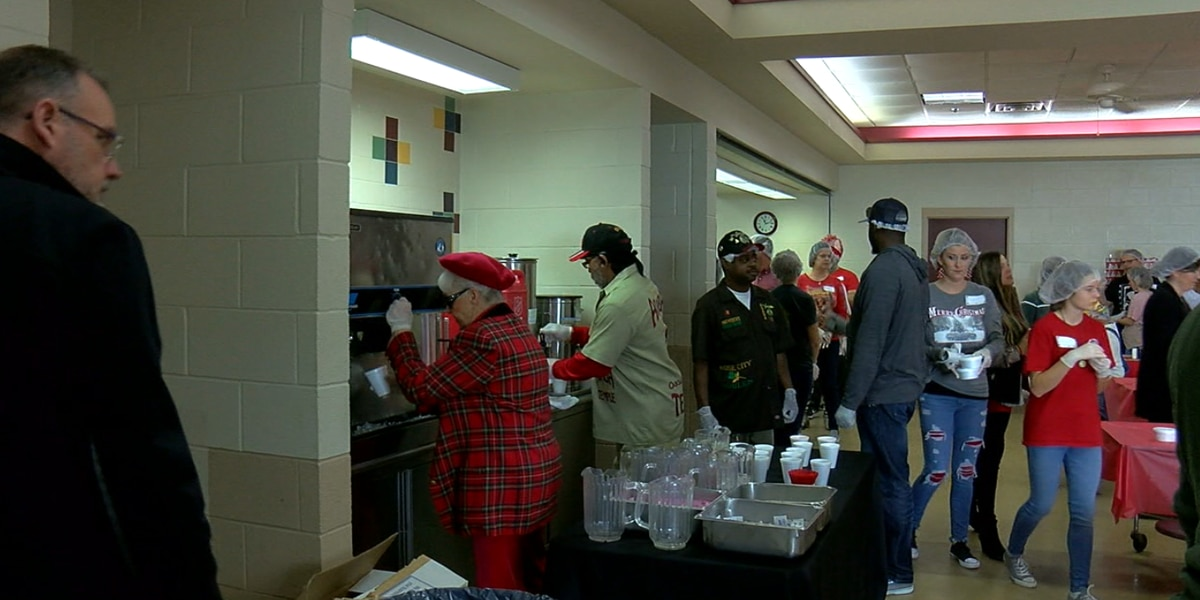 Salvation Army locations serve Christmas lunches on the Suncoast