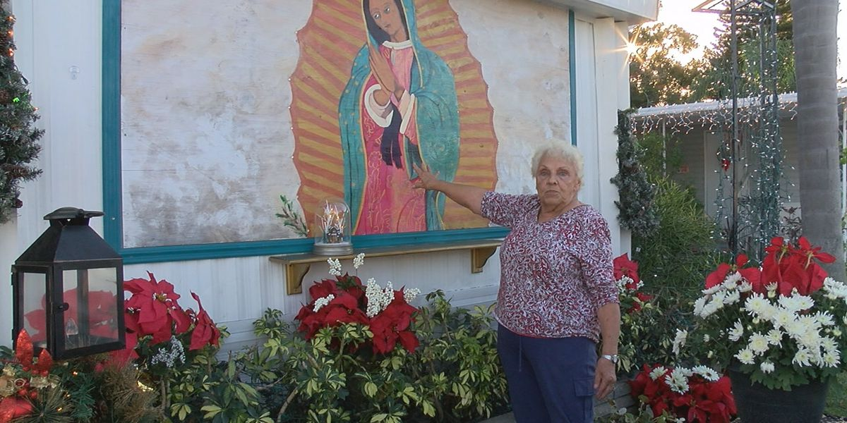 85-year-old Bradenton woman told to remove holy painting from her home, she's fighting to keep it up