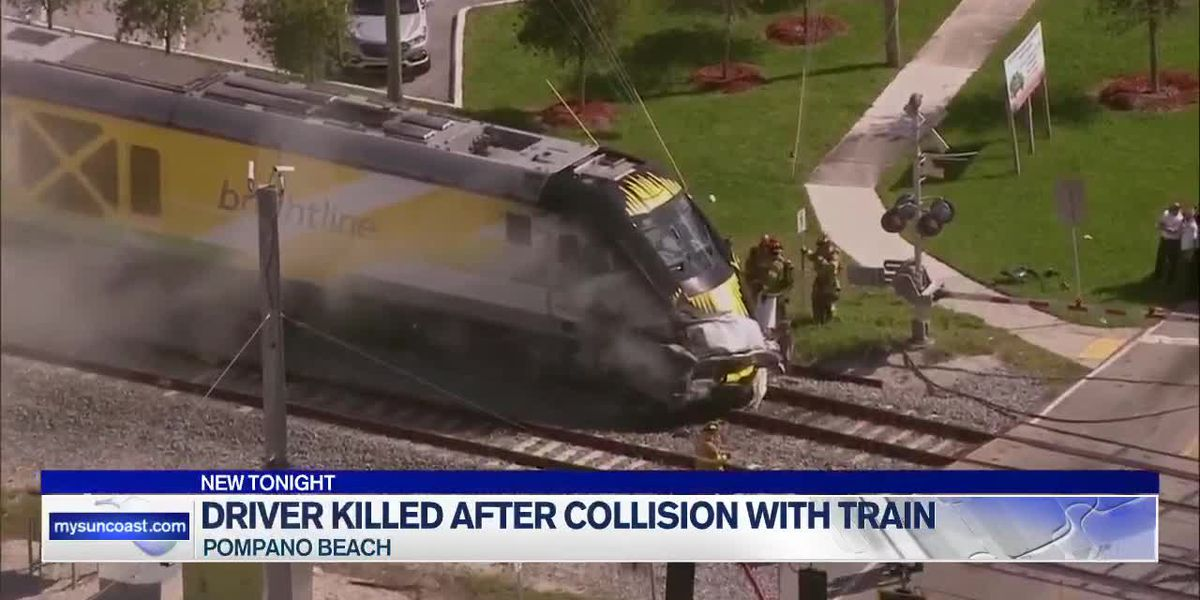 Driver Killed After Collision With Train