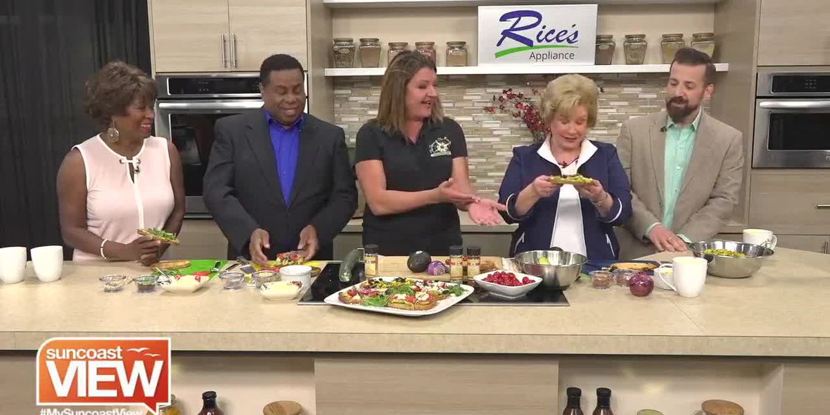 Avocado Toast 3 Ways by The Spice & Tea Exchange | Suncoast View