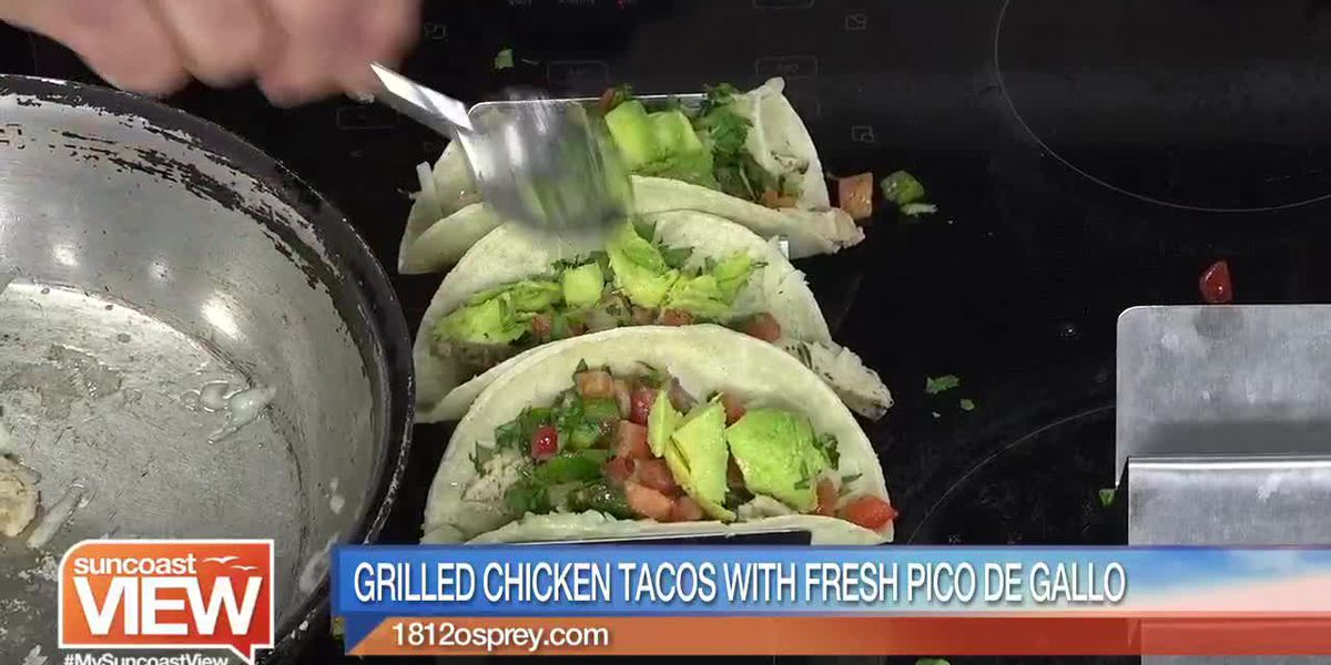 Grilled Chicken Tacos from 1812 Osprey Bistro