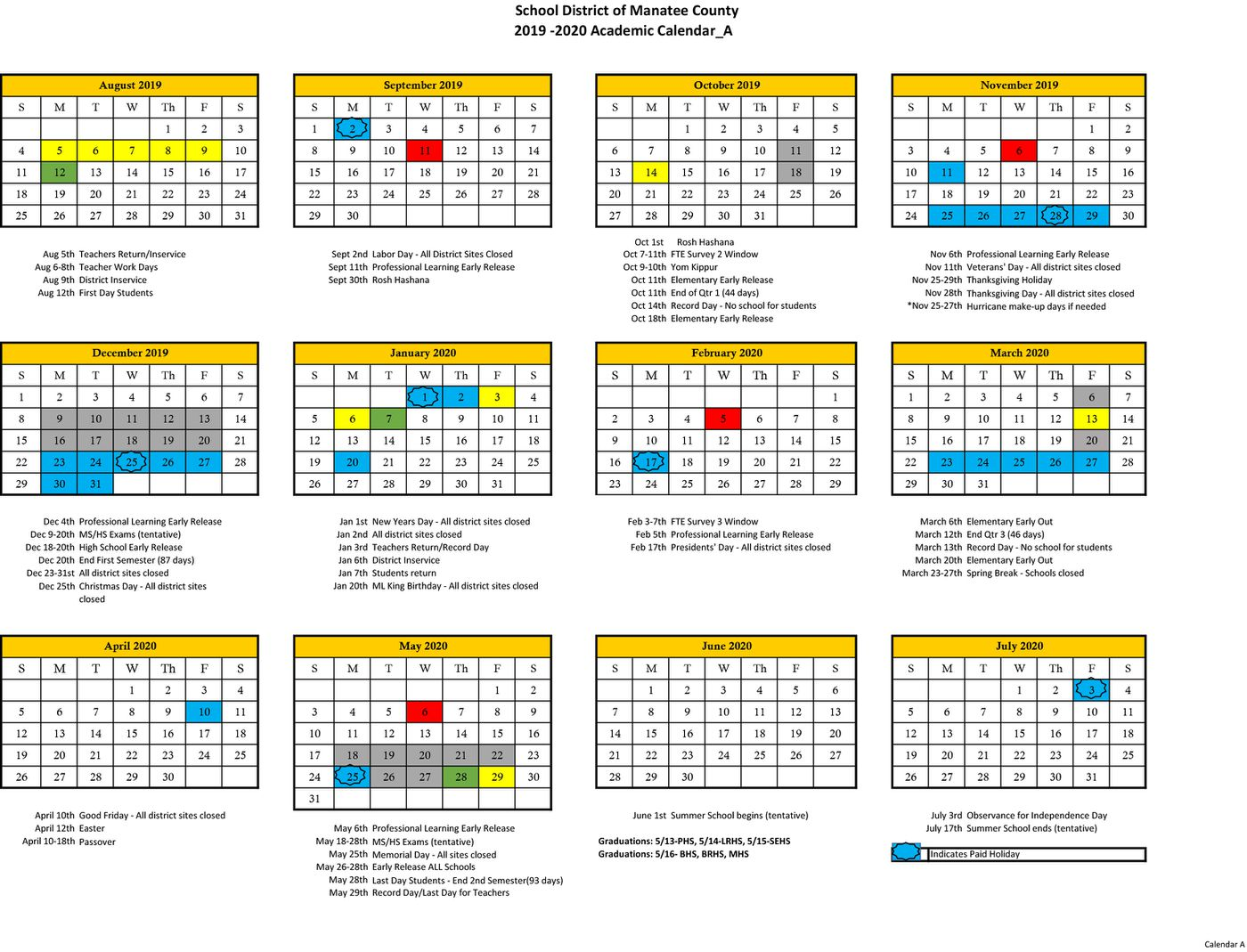 Sarasota County School Calendar 2020-21 Sarasota County ready to approve next year's school calendar   get
