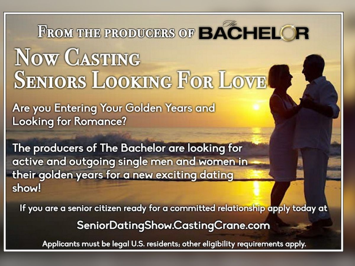ABC creating new dating show for seniors similar to The Bachelor