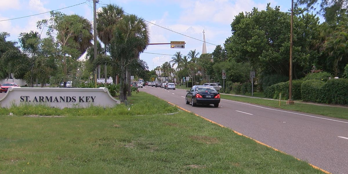 New walking and bicycle trail to be constructed from end of Coon Key Bridge to St. Armands Circle