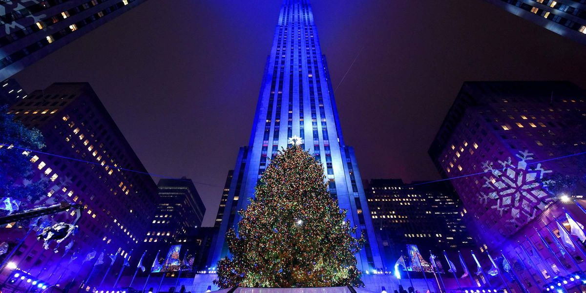 The Rockefeller Christmas Tree Lighting Ceremony looked a bit different this year