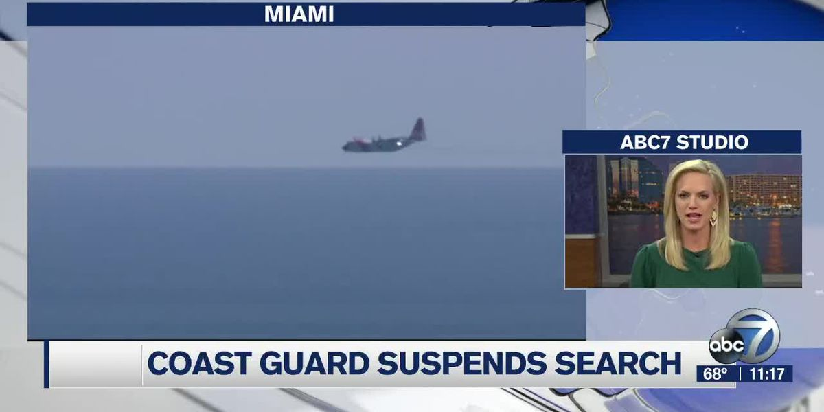 Coast Guard Suspends Search