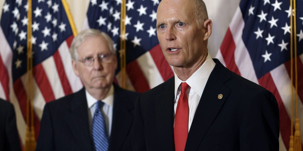 U.S. Sen. Rick Scott has tested positive for coronavirus