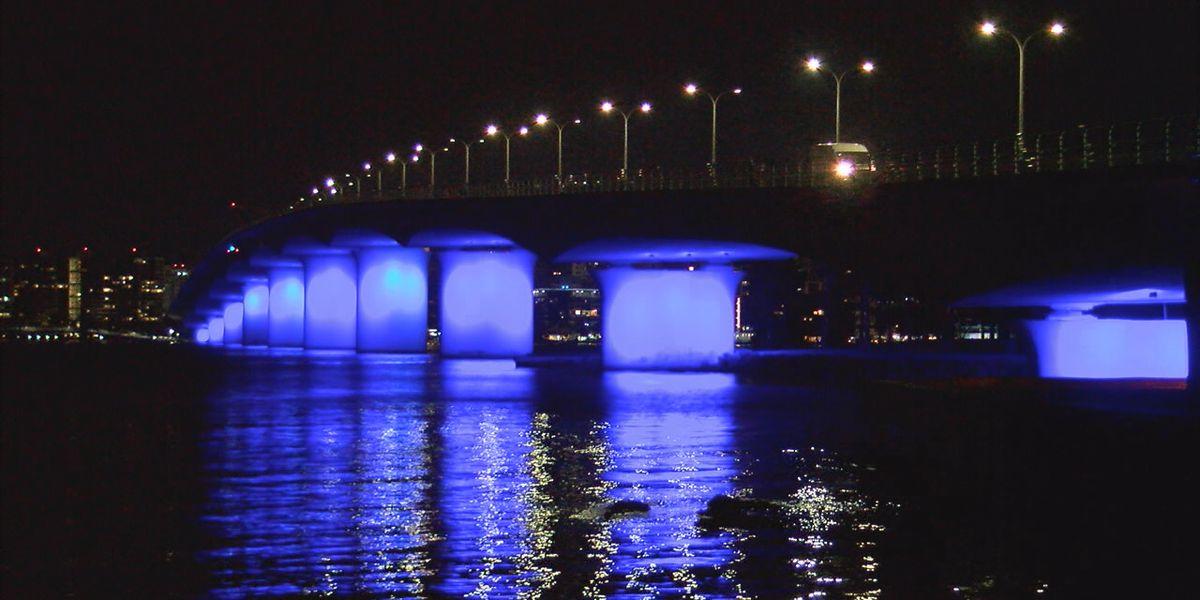 Ringling Bridge to showcase new, colorful lighting