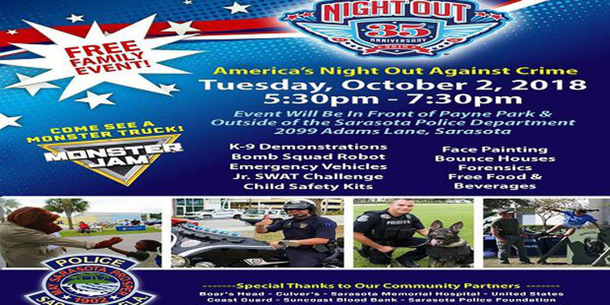 Sarasota PD host National Night Out, protesters plan to rally during event