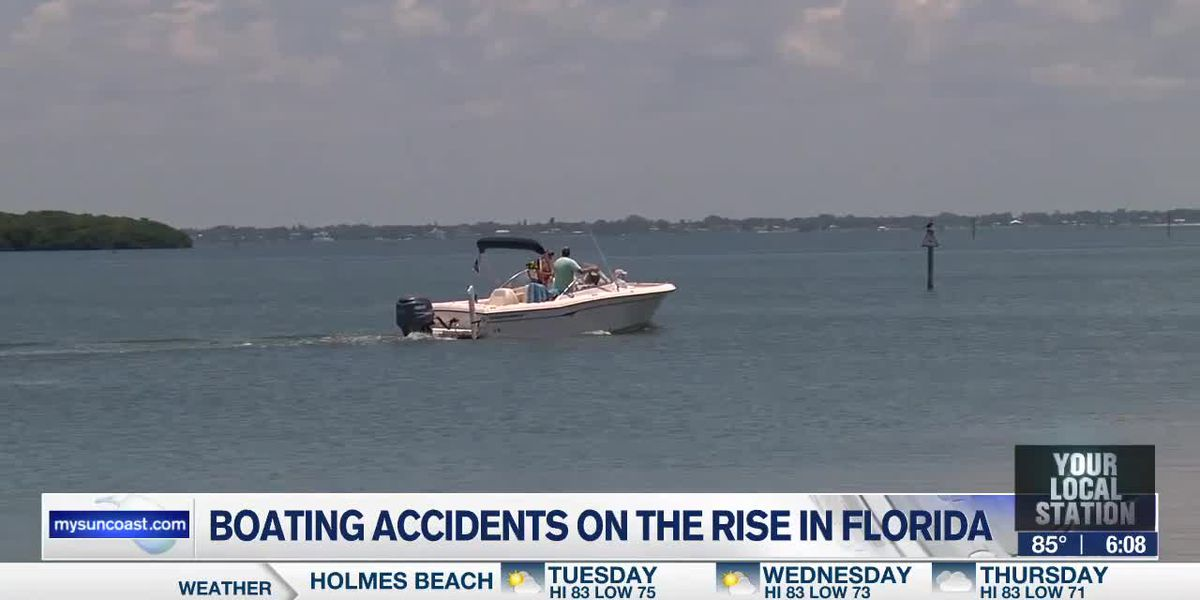 Boating accidents on the rise in Florida