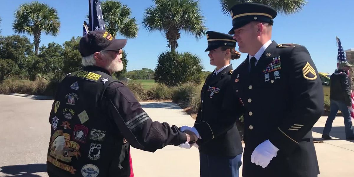VIDEO: Veterans with no family are laid to rest at Sarasota National Cemetery