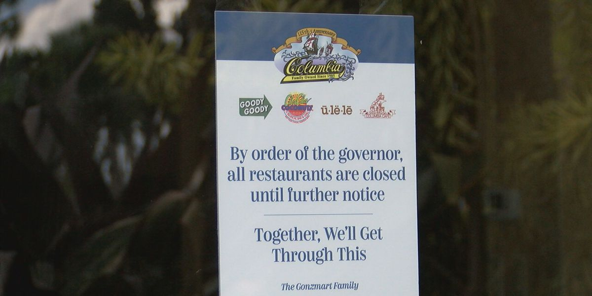 Some Suncoast restaurants launch employee assistance fund to help workers during coronavirus pandemic