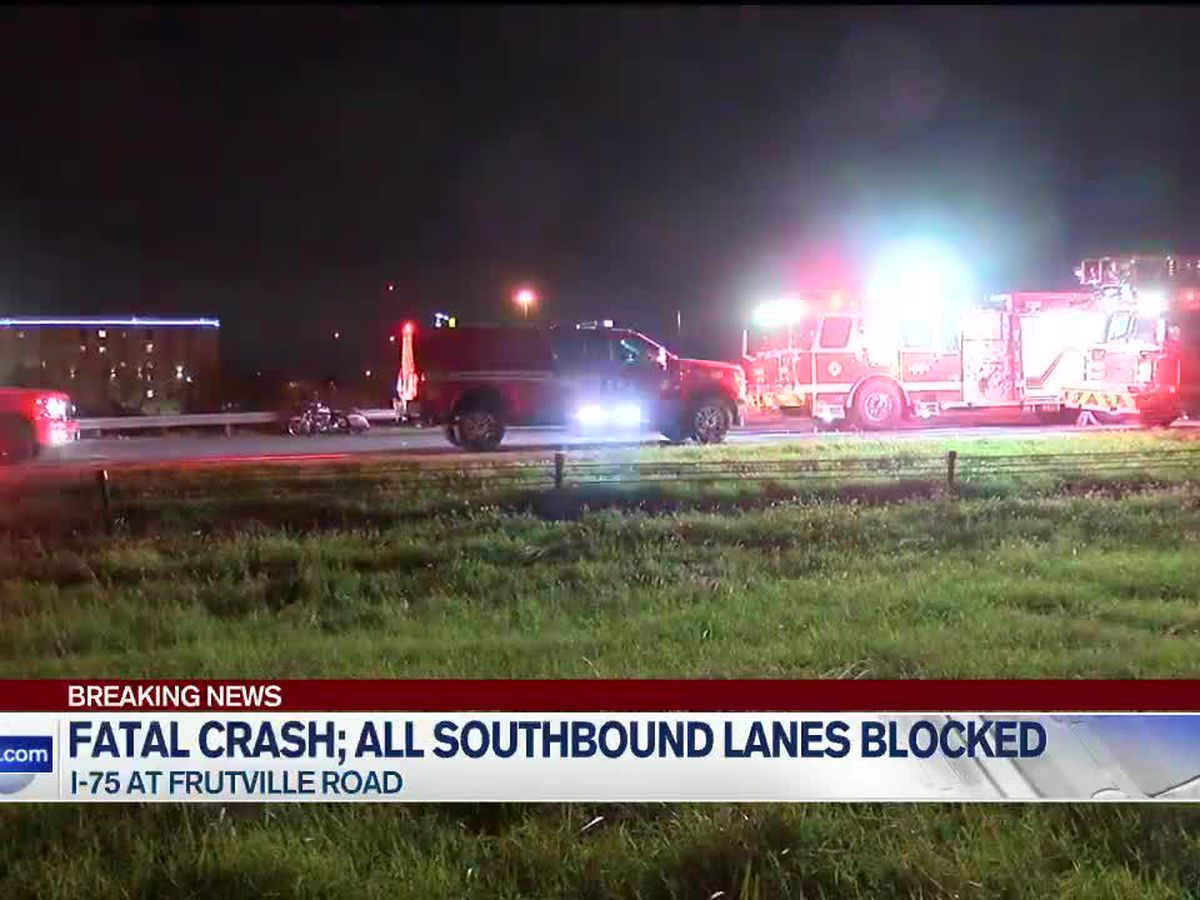 Motorcyclist killed in crash that shut down I-75 South identified