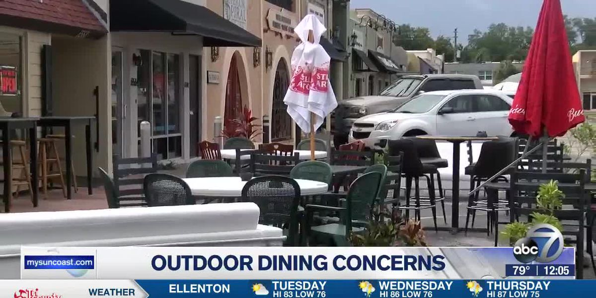 Outdoor Dining Concerns
