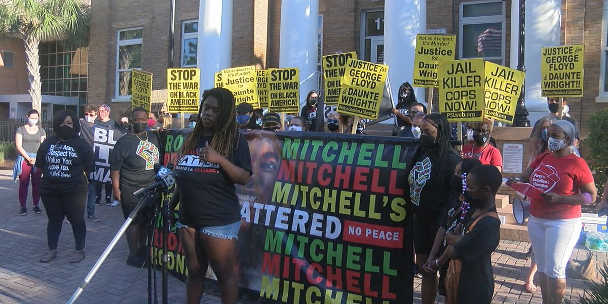 Celebration and rally for justice in Bradenton following Derek Chauvin guilty verdict