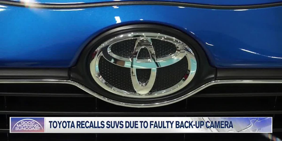 Toyota recalls certain SUVs for faulty backup cameras