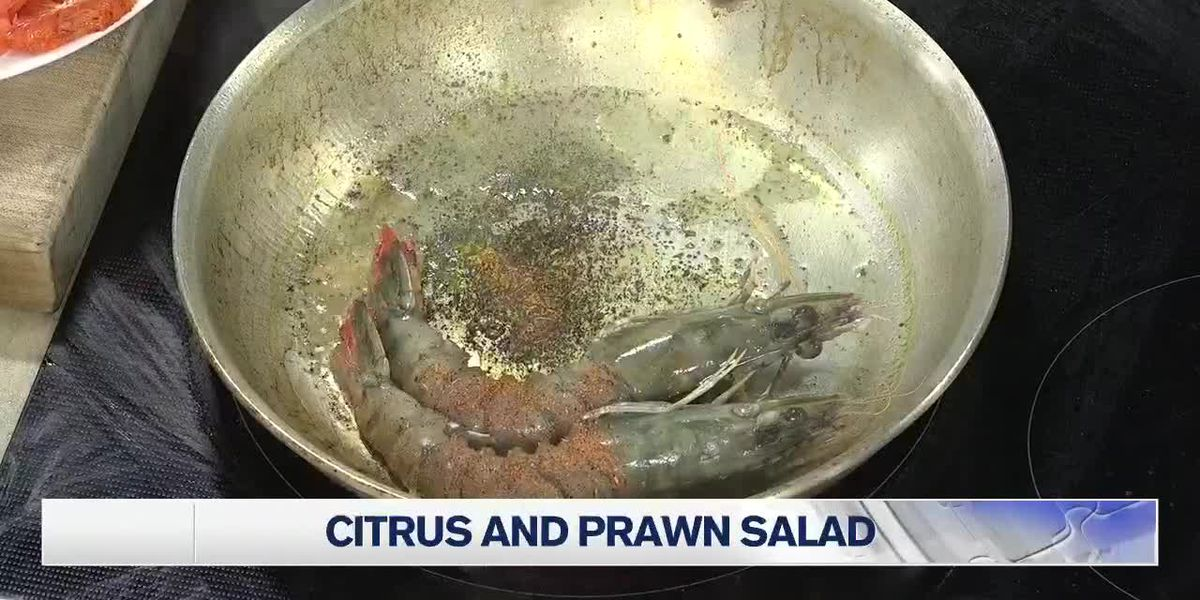 Let's Cook Citrus and Prawn