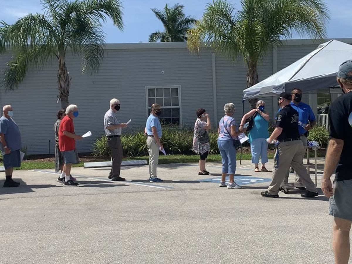 Colony Cove hosts first day of pop-up vaccine site in Ellenton