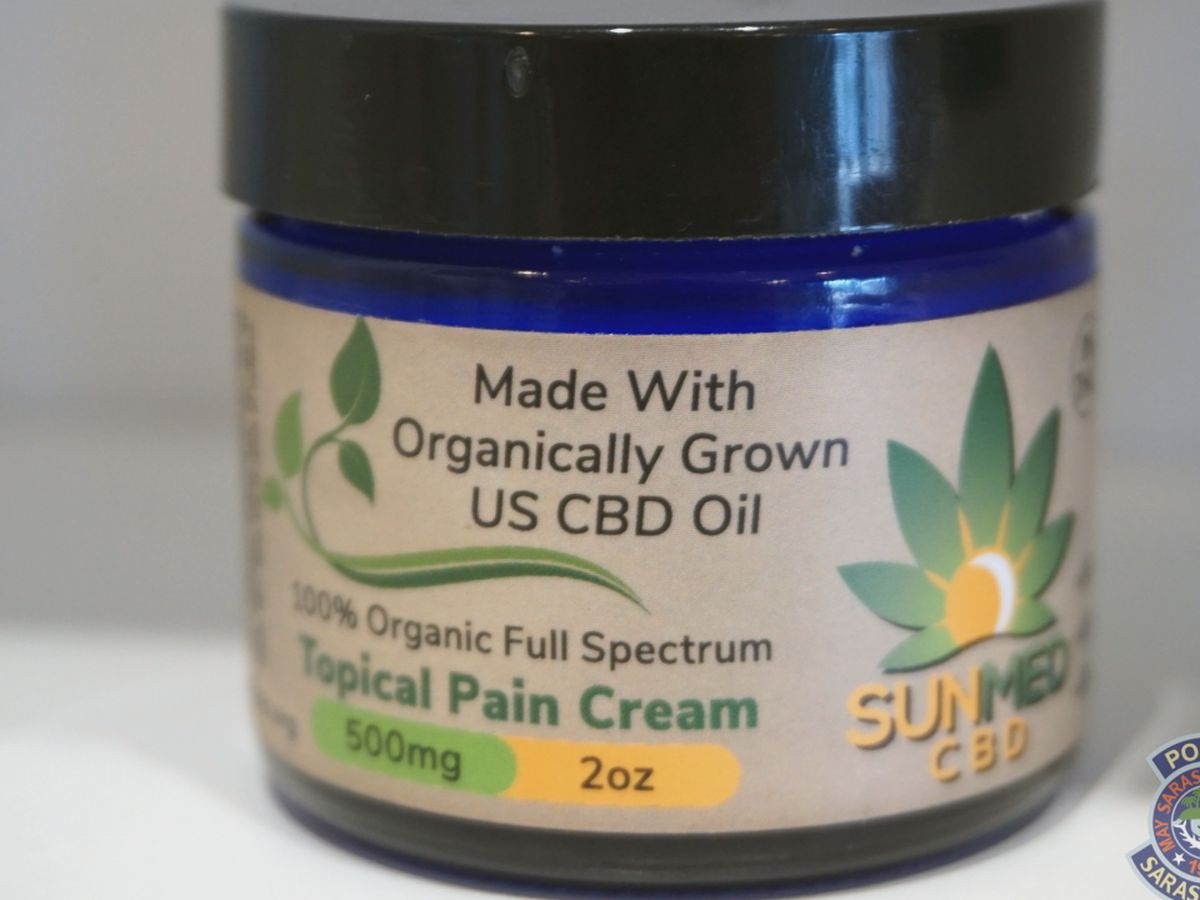 Sarasota Police warn the public of unlicensed retailers selling CBD oils