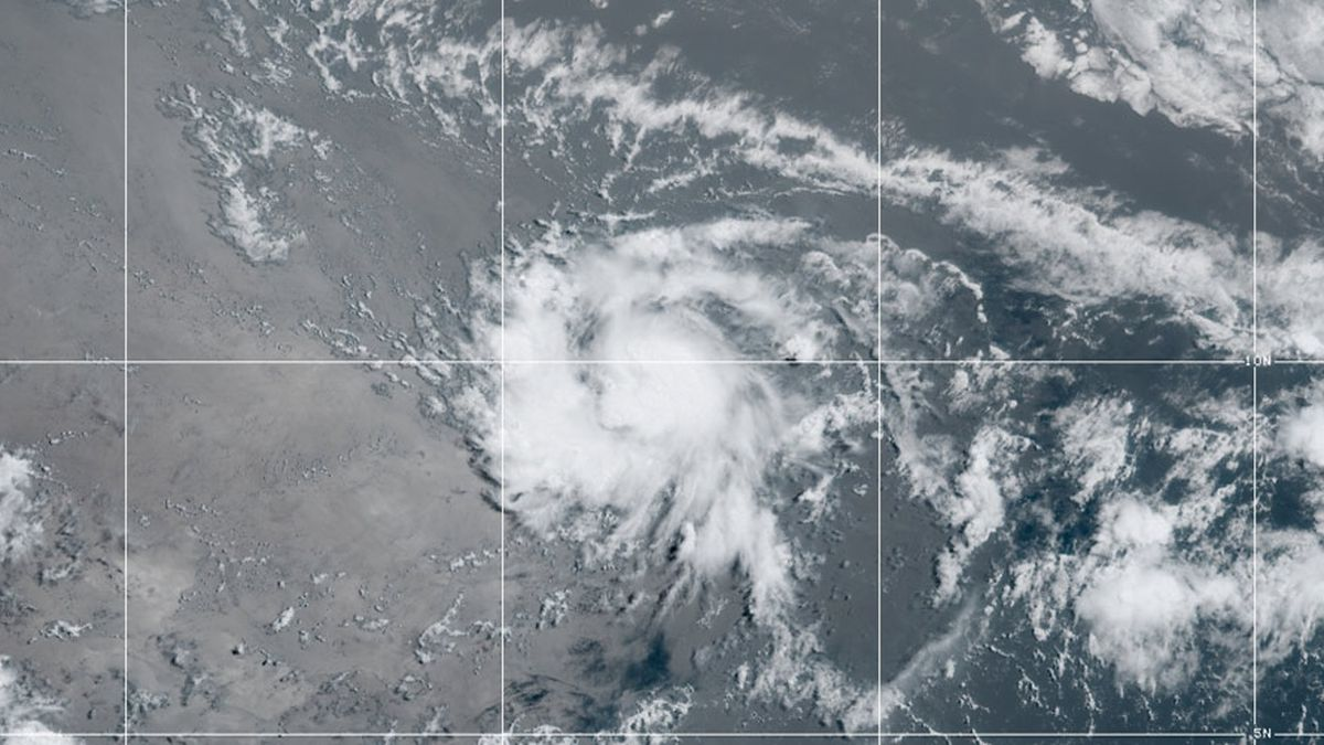 Tropical Storm Gonzalo forms, the Atlantic's earliest 'G'
