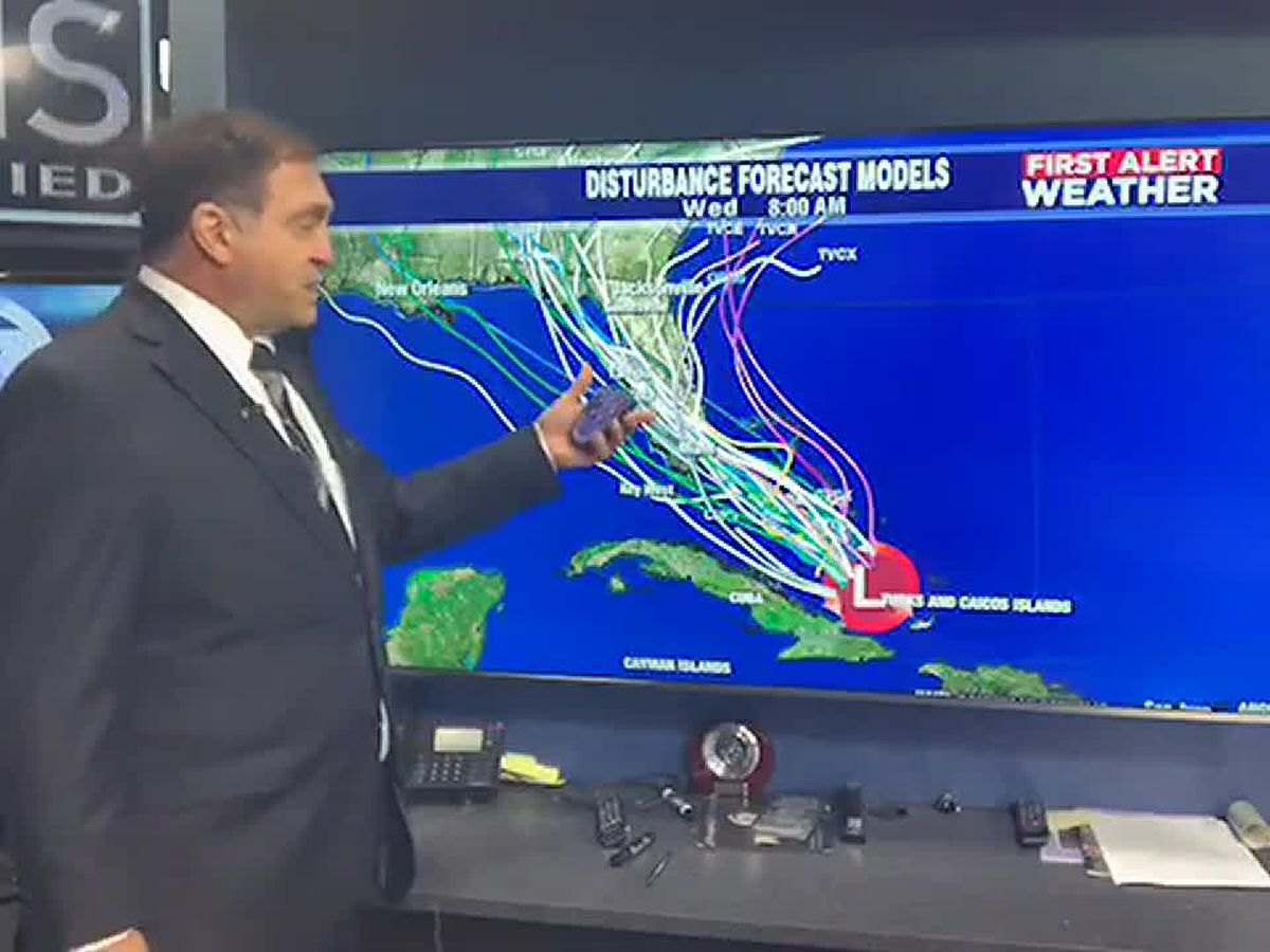 Tropical disturbance could bring heavy rains to the Suncoast this weekend